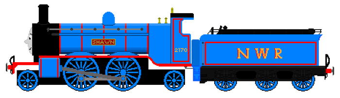 Shawn the NWR F2170 Engine by JamesFan1991