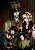 Mision Failed Steampunk by bymika