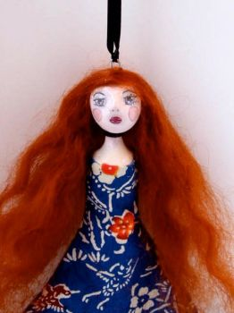 Magda - Art Doll by blackeyedsuzie