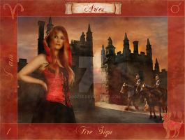 Aries Of The Zodiac by zoozee