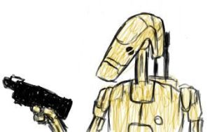 Battle droid by stepcode1994