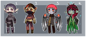 RottenAthenaeum Collab Adopts [CLOSED] by rottenstarboy