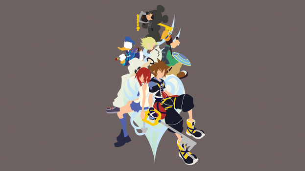 Kingdom Hearts | Minimalist by Sephiroth508