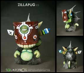 ZillaPUG 03 by SquareFrogDesigns