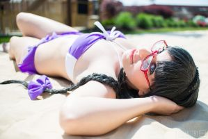 Homura Akemi (Beach Queens ver.) - PMMM by jillian-lynn