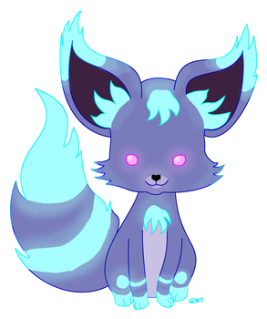 Puppy Neon Foxlike (closed) by TaoCesar