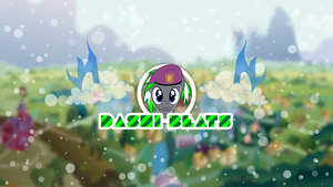 Dashi Beats Ponyville Shot Wallpaper by DJDavid98