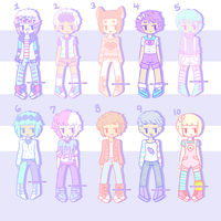 [Pastel Boy Adopts] - [CLOSED] by hello-planet-chan