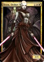 Teysa, Sith Lord by BlackWingStudio