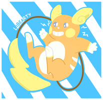 Alola Raichu by Libearty