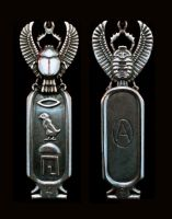 Scarab Pendant by Harnois75