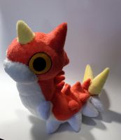 Pokemon - Wurmple custom plush