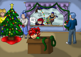 A Demon Christmas by Frozen-Fortune