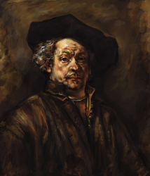 Rembrandt Master Study by LilioTheOne