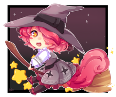 Little witch (YCH) by Neill-Ayane