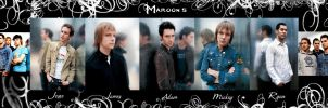 Maroon 5 shoot collage by maroon5Fans