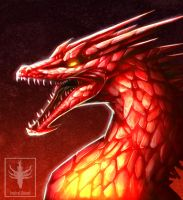 HoMM III: Cristal Dragon by VentralHound
