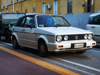 1987 Volkswagen Golf II convertible by GladiatorRomanus