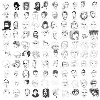 one hundred faces by verenuha