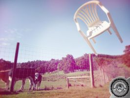 Chair in the Air 5 by NewWorldPunk