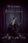 Hel Birthday Card by MakerV4