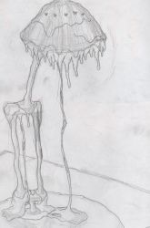 Sketch assignment: 4 melting lamp by Canadianexcalibur