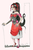 Queen of the Hearts by mina-D