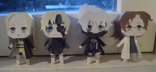 Sweet MGS Papercrafts by KimiMonsterKitty