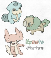 Kymoto Starters by Kyle-Dove