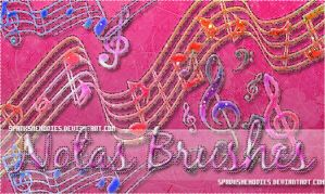 +NotasMusicales Brushes by Sparksmemories