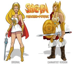 She-Ra New Design by Cahnartist
