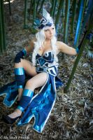 Janna's here to support-League of Legends by HoneyMaRy