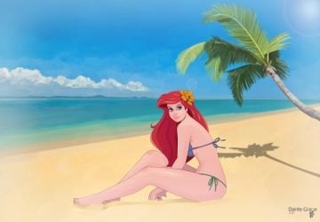 Ariel by Dante-Grapes