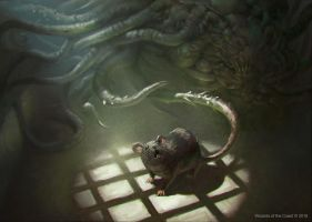 MTG: Sinuous Vermin by KangJason