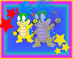 Larry koopa (gift for Vyel) by hombreloborex