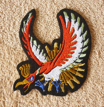 Ho-oh - embroidery patch by goiku