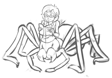 Spider Girl by leadhooves