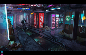 Blood of Sol - The Vending Machine Market by AranniHK