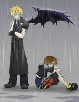 KH2: Umbrella by theeighthdeadlysin