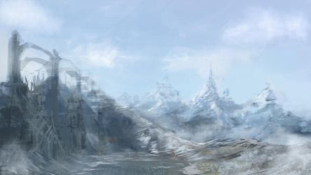 Environment wip by Glyphex