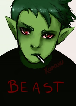 Beastboy by kinga555xd