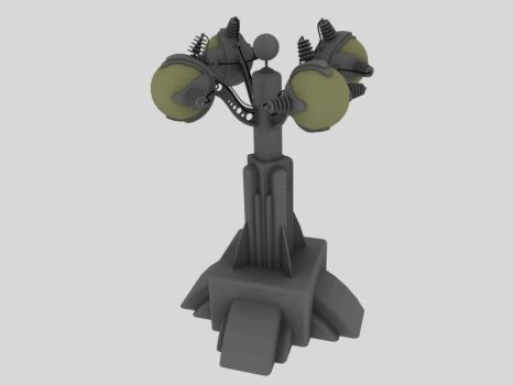 DecoSteam Street Lamp by SiriusArtWorks