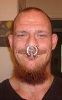 Me and My Septum Ring by AbstractPagan