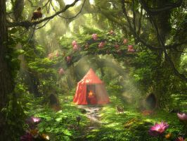The Red Tent by Rowye