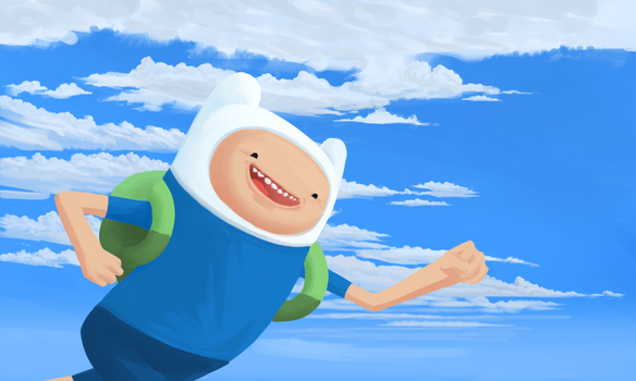 Finn the Human Boi by Tatrobii