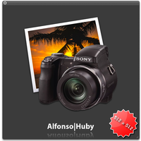 iPhoto icons with Sony DSC H7 by alfonsohuby