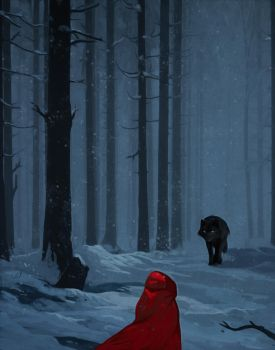 Riding hood by andrework