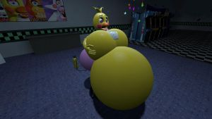 Inflation Toy Chica by legoben2