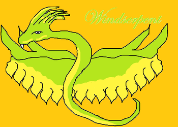 another windserpent by Toef