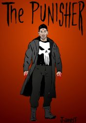 The Punisher by J-amesT